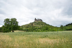 Castle of Boldogko on hilltop, Hungary Royalty Free Stock Images