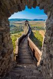 Castle of Boldogko in Hungary in Europe. Castle of Boldogko in Hungary, Europe royalty free stock photography