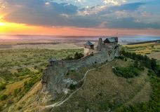 Castle of Boldogko in Hungary in Europe. Castle of Boldogko in Hungary, Europe stock photos
