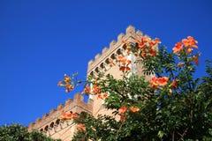 Castle in Bolgheri near the Etruscan coast, Italy Stock Photos