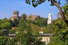 Castle Bolkow στη Σιλεσία Στοκ Εικόνα