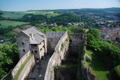 Castle Bolkow, Poland Stock Image