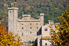 Castle of Bolsena in Italy Stock Photos