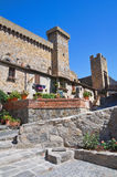 Castle of Bolsena. Lazio. Italy. Stock Photo