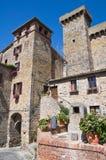 Castle of Bolsena. Lazio. Italy. Stock Photography