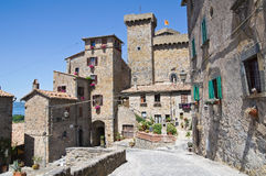 Castle of Bolsena. Lazio. Italy. Stock Photo