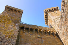 Castle of Bolsena. Lazio. Italy. Stock Image