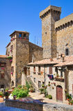 Castle of Bolsena. Lazio. Italy. Royalty Free Stock Images