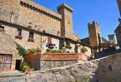 Castle of Bolsena. Lazio. Italy. Royalty Free Stock Photo