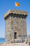 Castle of Bolsena. Lazio. Italy. Royalty Free Stock Image