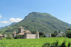 Castle in Bolzano, Italy Royalty Free Stock Photo