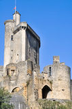 Castle of Bonaguil, Aquitaine, France Royalty Free Stock Photography