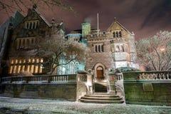 The Castle at Boston University. Boston University's Tudor Revival mansion The Castle royalty free stock photography