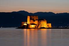Castle of Bourtzi Royalty Free Stock Photos