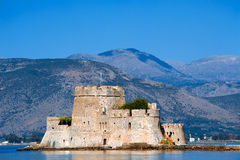 Castle Bourtzi in Nafplio Royalty Free Stock Image