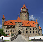 Castle Bouzov Royalty Free Stock Photos