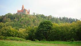 Castle Bouzov Stock Photo