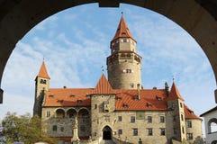 Castle Bouzov. Czech republic Stock Images