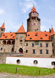 Castle Bouzov, Moravia, Czech Republic, Europe Royalty Free Stock Photo