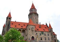 Castle bouzov, Moravia, Czech Republic, Europe Stock Photo