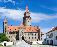 Castle Bouzov, South Moravia region, Czech republic. Royalty Free Stock Photos