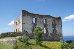 The castle Brahehus near Granna Stock Photo