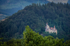 Castle in Bran Stock Photos