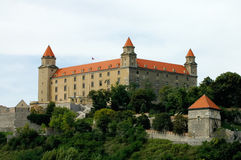 Castle in Bratislava. Old castle in Bratislava, Slovakia Royalty Free Stock Images