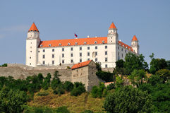 Castle in Bratislava Royalty Free Stock Photography