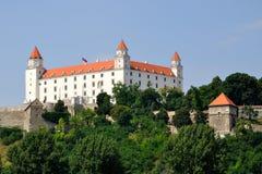 Castle in Bratislava. Old Castle in Bratislava - Slovakia royalty free stock photo