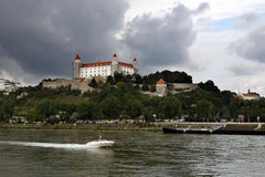 Castle in Bratislava Royalty Free Stock Photo