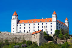 Castle in Bratislava. Slovakia, Europe Royalty Free Stock Photography