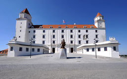 Castle in Bratislava Royalty Free Stock Photos