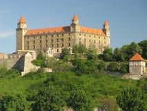 Castle in Bratislava. Bratislava - capital of Slovak republic Royalty Free Stock Images