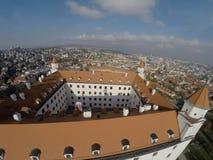 Castle in Bratislava Stock Photo