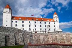 Castle in Bratislava - capital city of Slovakia Stock Photography