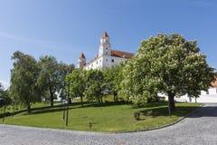 The castle of Bratislava Royalty Free Stock Photo