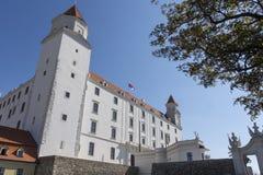 The castle of Bratislava Stock Images