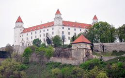 Castle in Bratislava, Slovakia, Europe royalty free stock photography