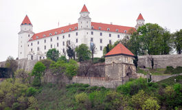 Castle in Bratislava, Slovakia, Europe Royalty Free Stock Image