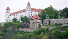 Castle in Bratislava, Slovakia, Europe Stock Image