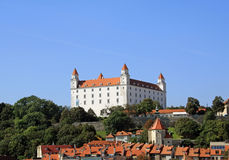 Castle in Bratislava Stock Photography