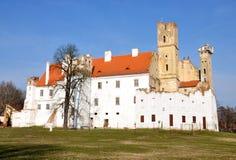 Castle - Breclav. Castle, city - Breclav, the Czech Republic Stock Photo