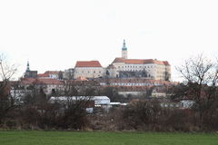 Castle in Mikulov Stock Photos