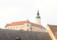 Castle in Mikulov  Stock Images