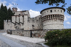 Castle of Brescia Royalty Free Stock Photography
