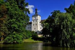Castle Breznice. Old castle Breznice in Czech Republic Royalty Free Stock Photos