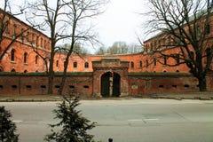 Castle. Brick builded Castle in Kaliningrad region Stock Image