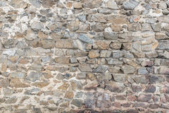 Castle brick wall background. A detailed castle brick wall background stock image