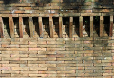 Castle brick wall detail Stock Photography